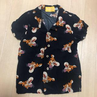 Disney - ディズニー アロハシャツ 100 ティガー