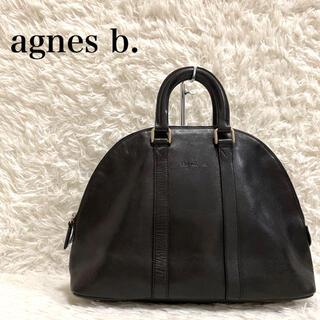 agnes b. - agnes b. アニエスベー ハンドバッグ トートバッグ レザー 本革