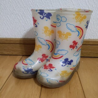 ディズニー(Disney)の【値下げ】ディズニーリゾート 長靴 レインシューズ 14cm(長靴/レインシューズ)