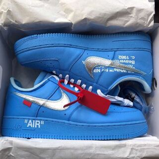NIKE - OFF WHITE NIKE AIR FORCE 1 MCA 28.5cm