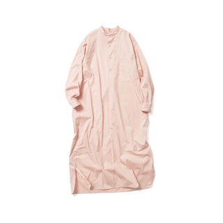 コモリ(COMOLI)の新品タグ付 21ss LENO リノ リノアンドコー シャツ ワンピース(ロングワンピース/マキシワンピース)