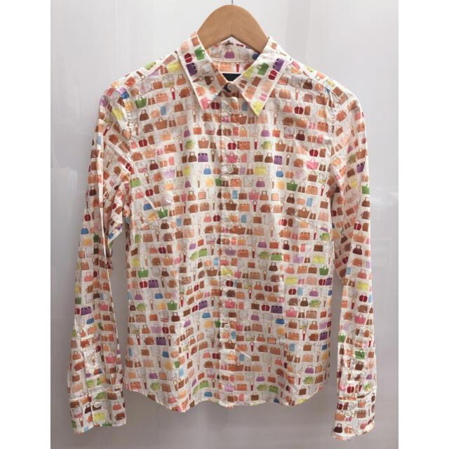 Paul Smith(ポールスミス)のpaul smith ポールスミス 総柄 シャツ ブラウス 春物 レディースのトップス(シャツ/ブラウス(長袖/七分))の商品写真