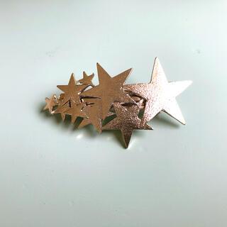スリーコインズ(3COINS)のスリーコインズ スター 星 バレッタ ピン(バレッタ/ヘアクリップ)