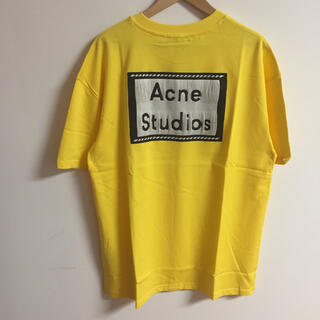アクネ(ACNE)のサイズS黄Acne studios Tシャツ(Tシャツ(半袖/袖なし))
