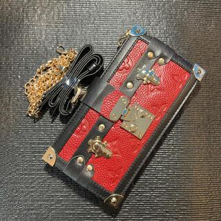 携帯ケース 手帳型 ショルダーストラップ iPhone12 promax(iPhoneケース)