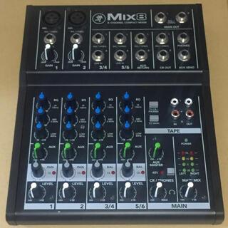 MACKIE マッキー Mix8 アナログミキサー コンパクト(ミキサー)