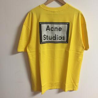アクネ(ACNE)のサイズL黄色Acne studios Tシャツ(Tシャツ(半袖/袖なし))