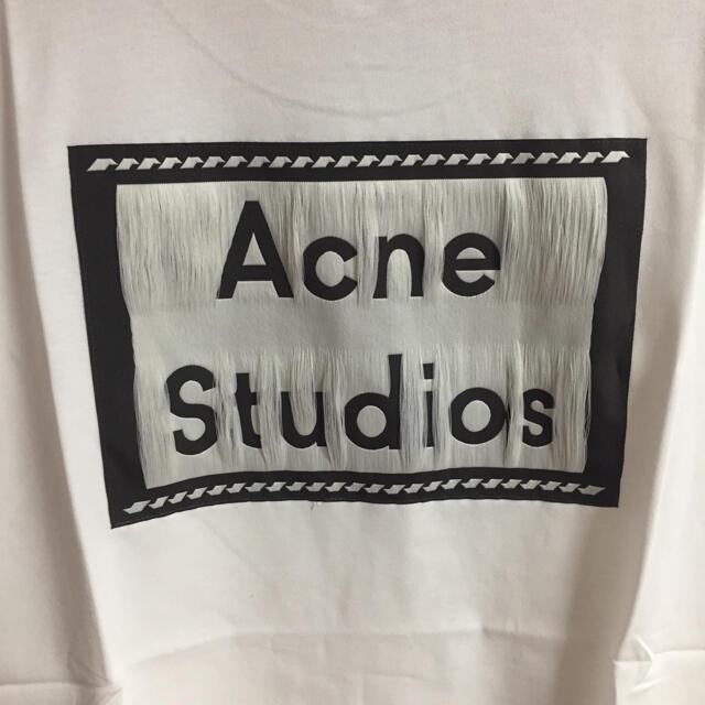 ACNE(アクネ)のサイズL白Acne studios Tシャツ レディースのトップス(Tシャツ(半袖/袖なし))の商品写真