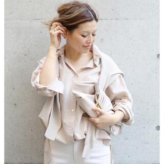 DEUXIEME CLASSE - deuxieme classe EVERYDAY ワイドシャツ ピンク