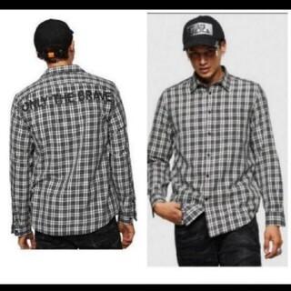 DIESEL - DIESEL  背中のデザインが目立つ長袖シャツです。XL