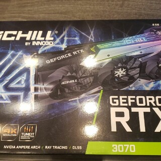 新品未使用 INNO3D Geforce RTX 3070 OC 8GB