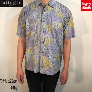 アレグリ(allegri)のallegro ITALY Print Shirt コットン 開襟 総柄シャツ(シャツ)