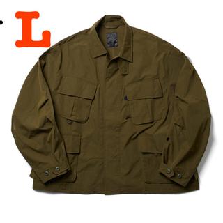 1LDK SELECT - DAIWA PIER39 tech jungle fatigue jacket