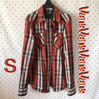 ヴァンズ(VANS)のvansバンズ 海外限定 スナップボタン チェック ウエスタン シャツ(シャツ)