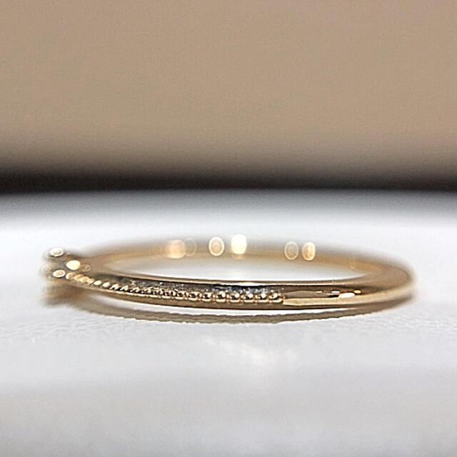 ete(エテ)のete✨K10  ダイヤ リング レディースのアクセサリー(リング(指輪))の商品写真