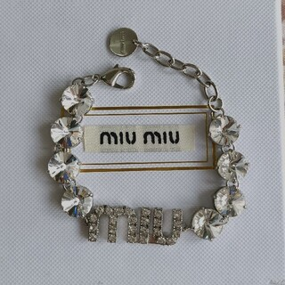 miumiu - ❀早い者勝つ❀miumiu ブレスレット