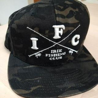 アイリーライフ(IRIE LIFE)の即完売!!IFC IRIE FISHING CLUB ブラックカモキャップ(キャップ)