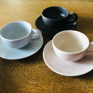 ジェンガラ(Jenggala)のジェンガラカップ&ソーサー3色セット(食器)