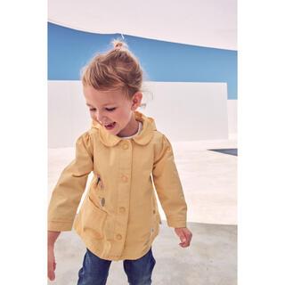 ネクスト(NEXT)の【未使用タグ付き】ベビー・キッズ 刺繍付き ジャケット 90cm 黄色 NEXT(ジャケット/上着)