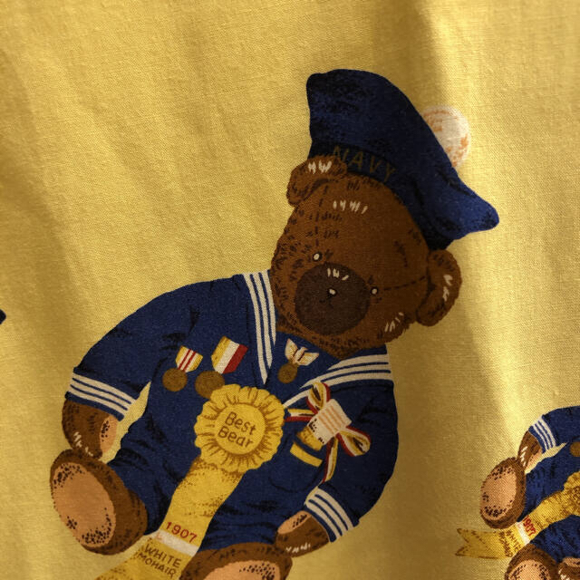 Karl Helmut(カールヘルム)のkarlhelmut カールヘルム ベアシャツ イエロー 黄色 レーヨン メンズのトップス(シャツ)の商品写真