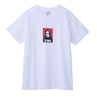 X-girl - 【格安出品❗】x-girl フェイス ロゴ  Tシャツ