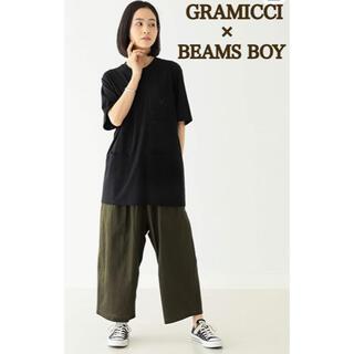 ビームスボーイ(BEAMS BOY)のGRAMICCI×BEAMSBOY 別注/コットンリネンバルーンパンツ(カジュアルパンツ)