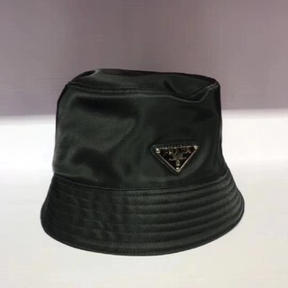 PRADA帽子ハット/ブラック/2枚9500円送料込み