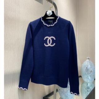 CHANEL - 21SS★春先にぴったり♪ CHANEL ウール  セーター M