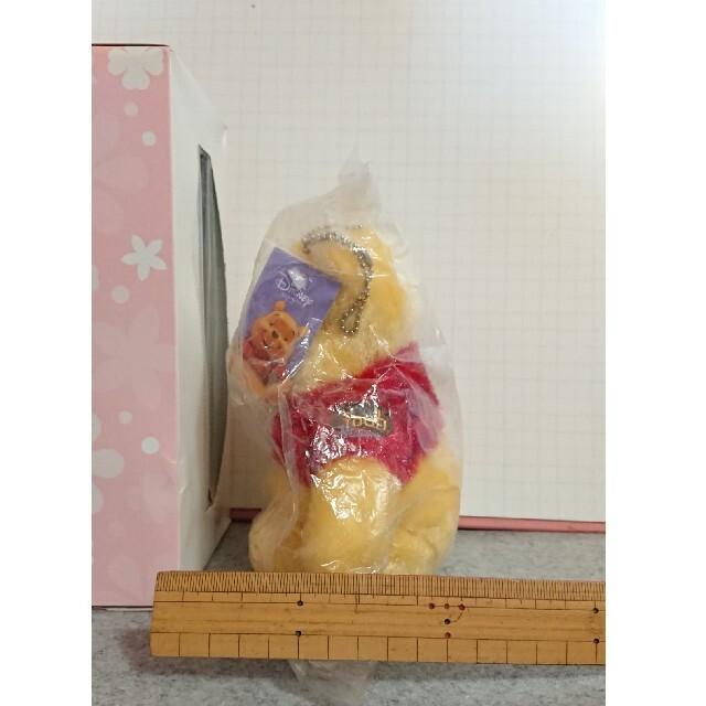 くまのプーさん(クマノプーサン)のディズニー くまのプーさん ぬいぐるみ ふわふわ マスコット キーホルダー エンタメ/ホビーのおもちゃ/ぬいぐるみ(ぬいぐるみ)の商品写真
