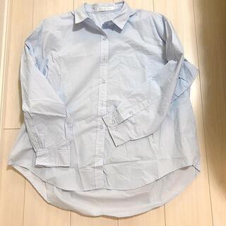 ザラ(ZARA)のアメホリ♡ ブルーシャツ(シャツ/ブラウス(長袖/七分))