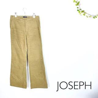 ジョゼフ(JOSEPH)のJOSEPH コーデュロイ コットンパンツ ブーツカット ワイド ベージュS(カジュアルパンツ)