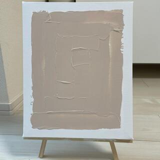 ザラホーム(ZARA HOME)の1点もの 手描きアートパネル(インテリア雑貨)