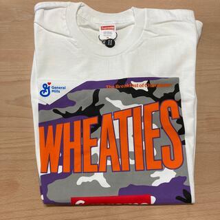 シュプリーム(Supreme)の21SS Supreme Wheaties Tee White Mサイズ(Tシャツ/カットソー(半袖/袖なし))