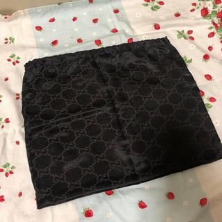 Gucci - グッチGUCCI 保管袋 美品 GG柄 巾着袋