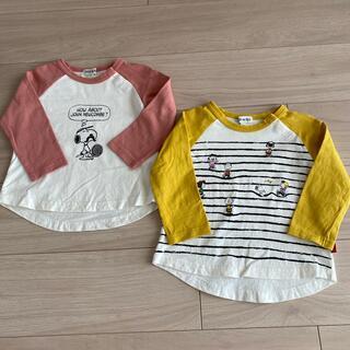 SHOO・LA・RUE - SHOO・LA・RUE スヌーピー 長袖Tシャツ セット90cm