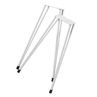 スケートボード スツール 椅子 ロンスケ スケボー チェア ベース部品 002白