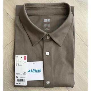 UNIQLO - UNIQLO ユニクロ AIRism エアリズム ジャージーポロシャツ