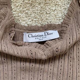 クリスチャンディオール(Christian Dior)のChristian Dior♡ ノースリーブクロップドトップス(タンクトップ)