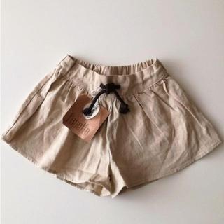 Caramel baby&child  - 新品 Popelin リネン混のキュロットスカート 18-24M ポペリン