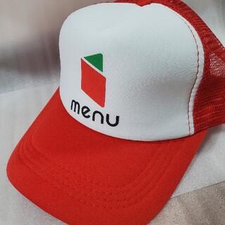 メニューロゴ入り立体刺繍キャップ menu 帽子(キャップ)
