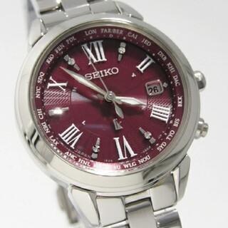 SEIKO - セイコールキア チタン 電波時計