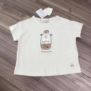 futafuta - テータテート 牛 tシャツ ウシ tete a tete フタフタ 90 白