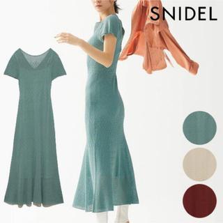 snidel - SNIDEL クロシェワンピース