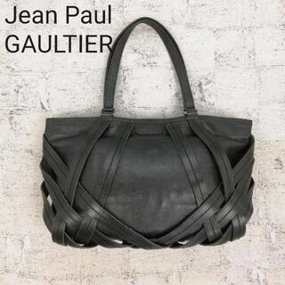 ジャンポールゴルチエ(Jean-Paul GAULTIER)のJeanPaul GAULTIER ジャンポールゴルチェ レザーハンドバッグ(ハンドバッグ)