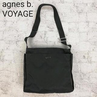 agnes b. - agnes b. VOYAGE アニエスベー スクエアショルダーバッグ