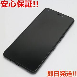 キョウセラ(京セラ)の美品 704KC ブラック 本体 白ロム (スマートフォン本体)