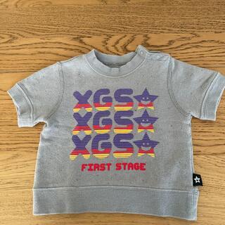 エックスガールステージス(X-girl Stages)のエックスガールファーストステージ 半袖トレーナー(Tシャツ/カットソー)