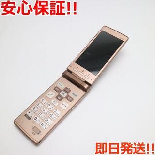 キョウセラ(京セラ)の良品中古 au KYF32 かんたんケータイ ピンク (携帯電話本体)