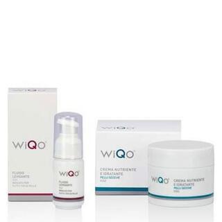 WiQoフェイスフルイド WiQo保湿ナリシングクリーム 2個セット