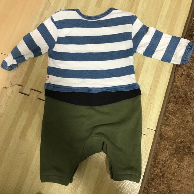 EDWIN(エドウィン)のEDWIN ロンパース サイズ70 キッズ/ベビー/マタニティのベビー服(~85cm)(ロンパース)の商品写真
